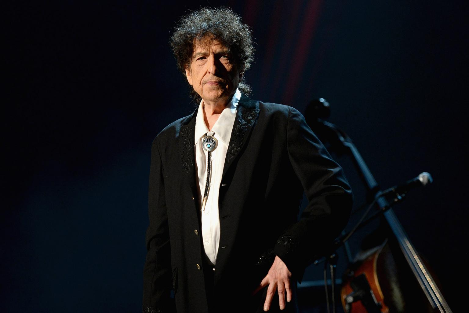 Bob Dylan Says He Is 'Beyond Words' While Accepting Nobel Peace Prize for Literature in Penned Speech