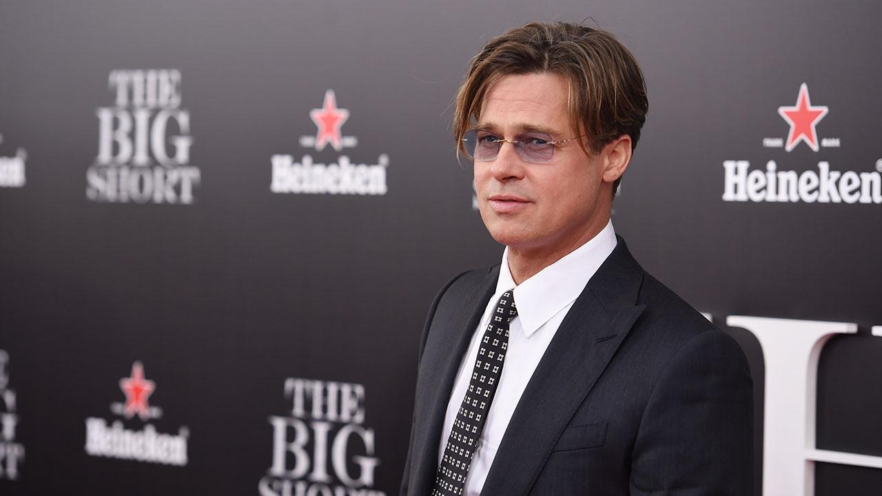 Brad Pitt Makes First Appearance Since Angelina Jolie Divorce Filing at Private Screening -- See the Pics!