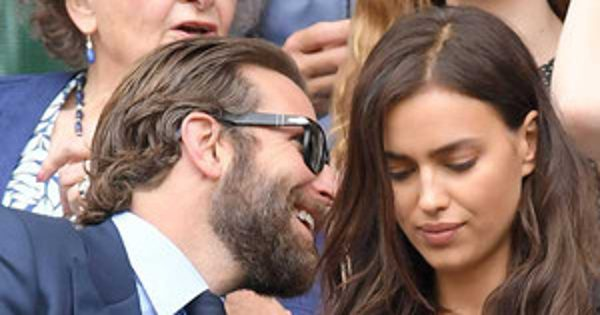 Bradley Cooper and Irina Shayk Were Not Fighting at Wimbledon