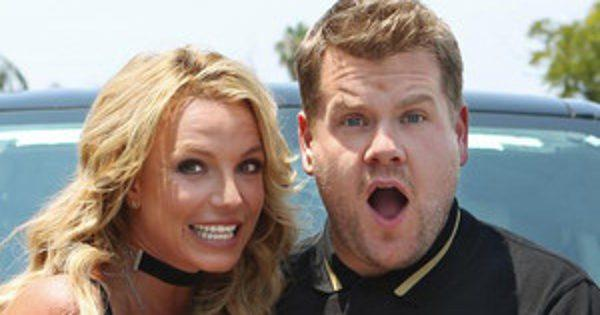 Britney Spears' Carpool Karaoke With James Corden Is Filled With Dick Jokes, High Notes & Schoolgirl Uniforms