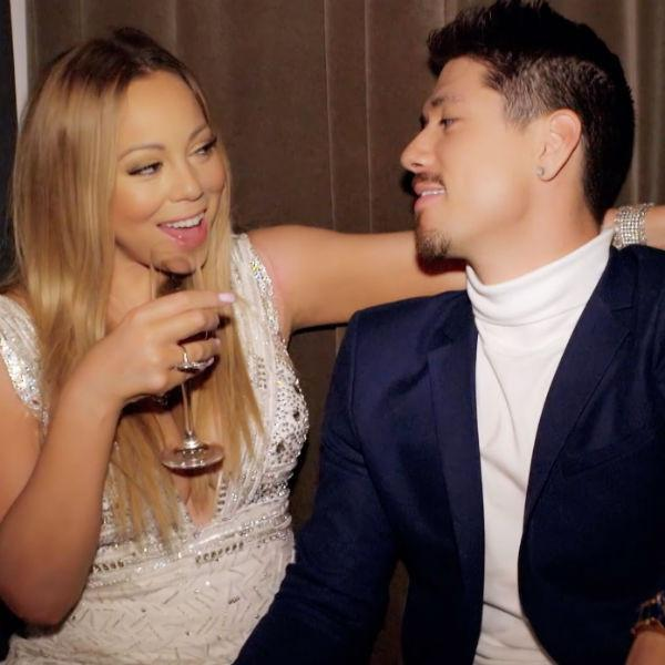 Bryan Tanaka ''All Over'' Mariah Carey & ''Walking on Dangerous Ground'' on Mariah's World: ''The Woman Is Engaged!''