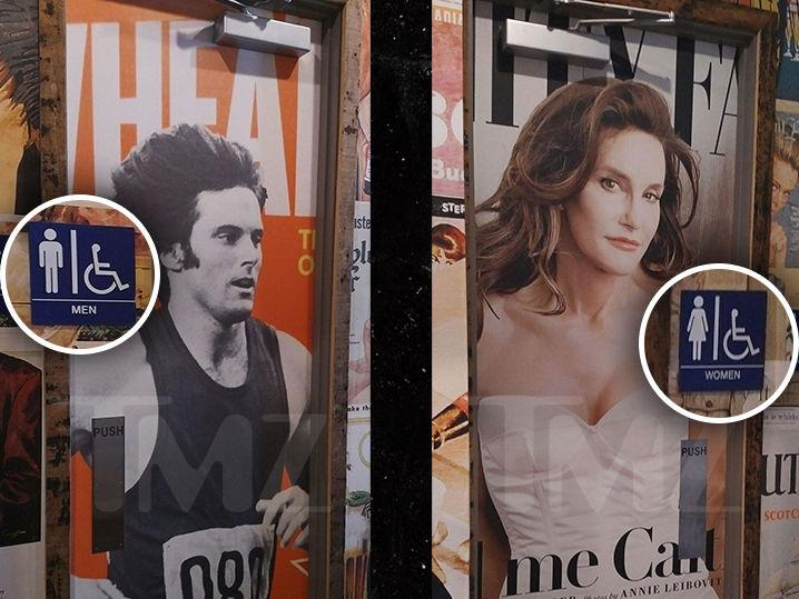 Caitlyn/Bruce Jenner -- Choose One, Then Flush (Photo)