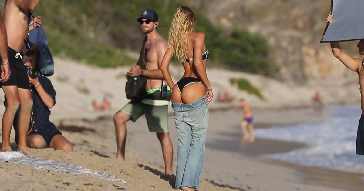 Candice Swanepoel -- Are These My Pants? (Video)
