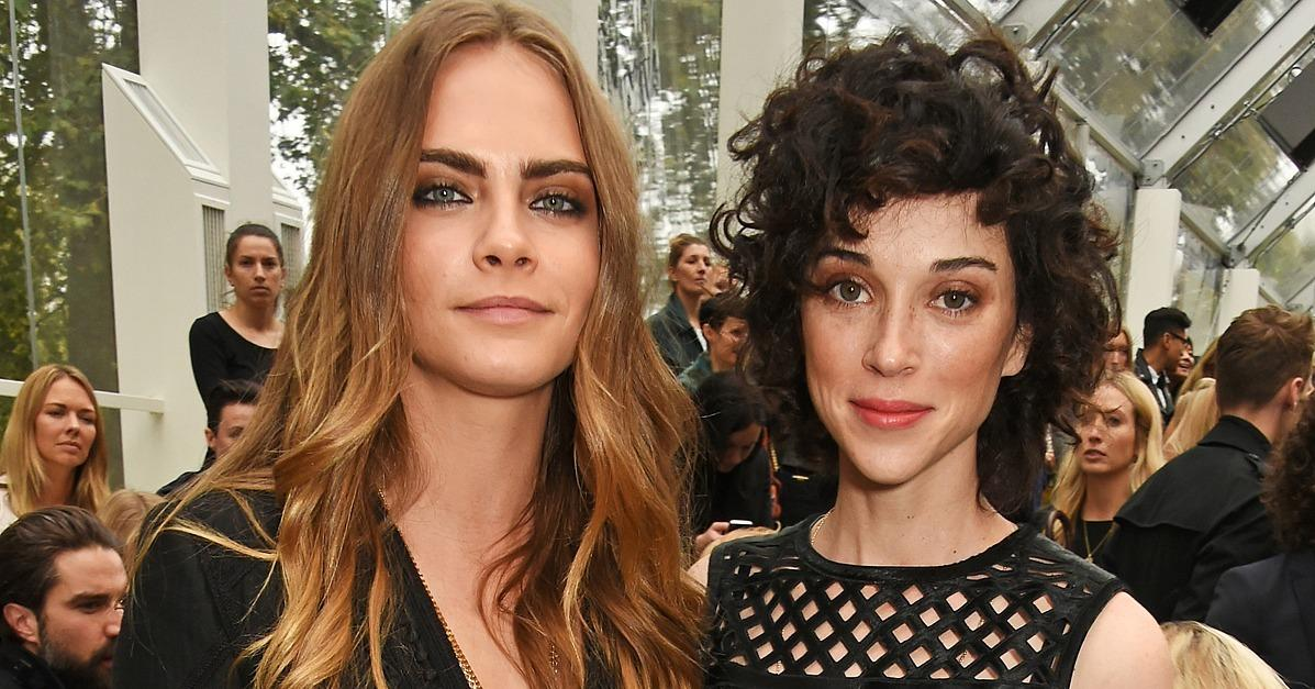 Cara Delevingne and St. Vincent Spend Their First Holiday Se