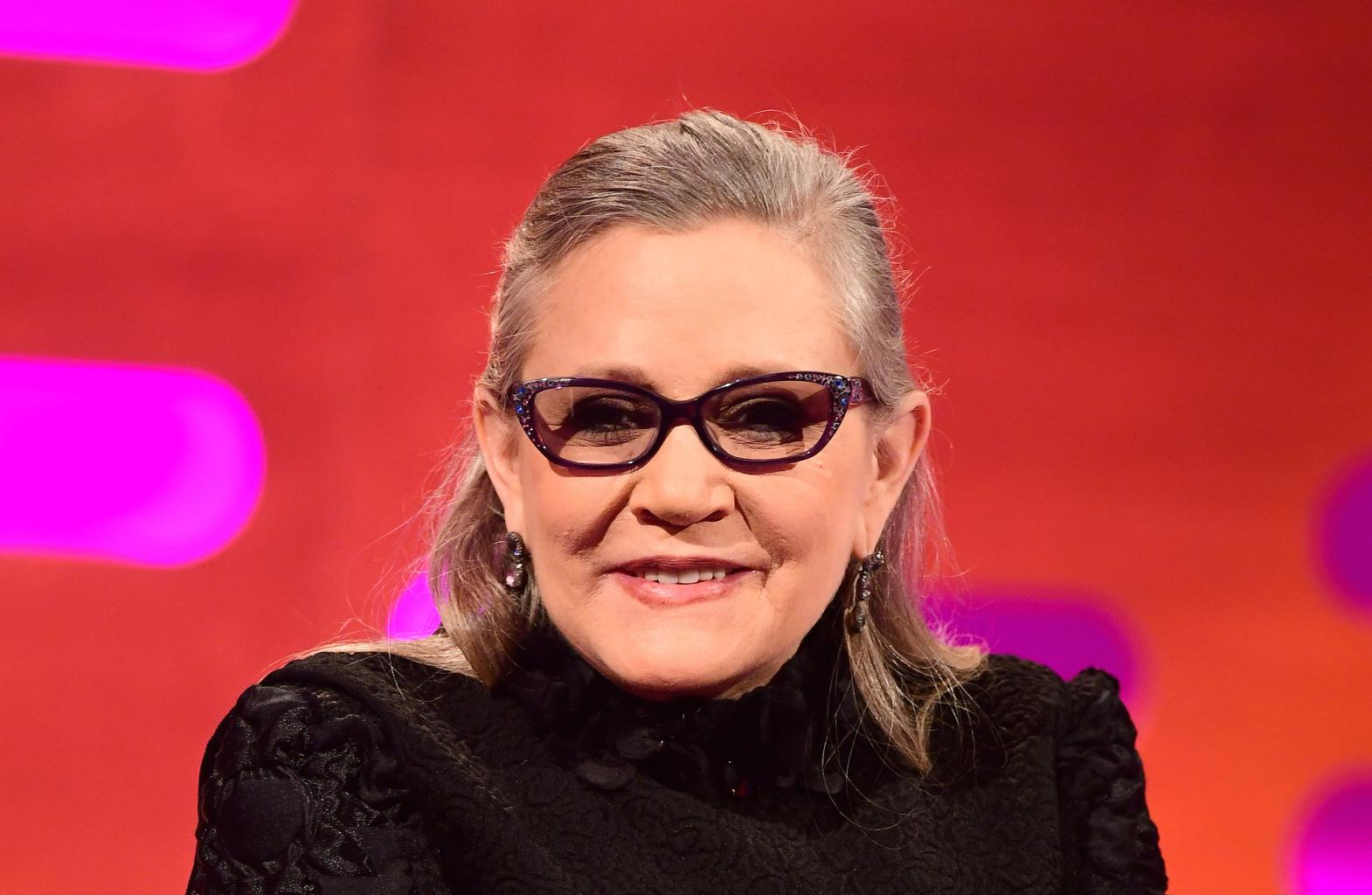 Carrie Fisher Is In ICU, Not    Stable Condition  ': Brother