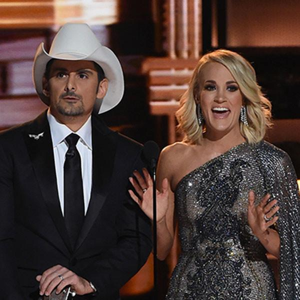 Carrie Underwood and Brad Paisley's Best Jokes During the 2016 Cma Awards