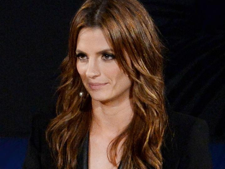 'Castle' Star -- Trolls Want My Husband Dead