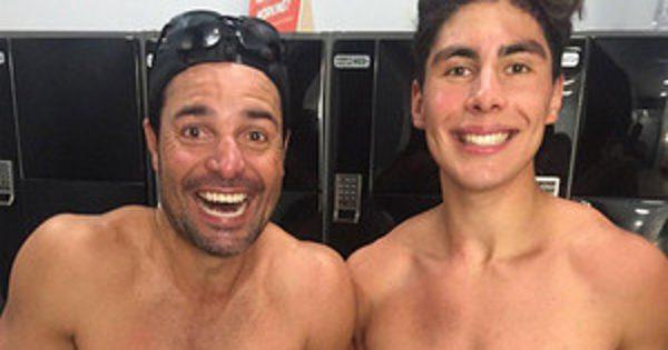 Chayanne and His Son Have Insanely Toned Abs--and They're Out of Control