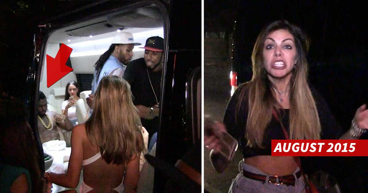 Chis Brown Accuser -- No Stranger To Celeb Beef ... Railed O