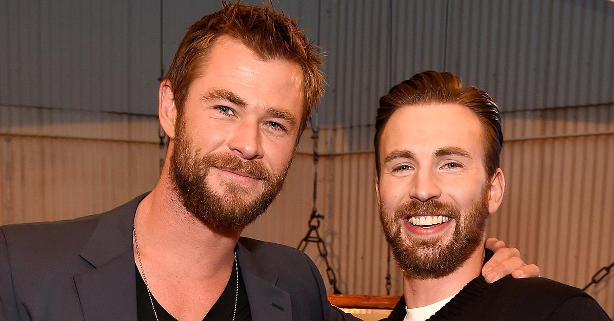 Chris Evans and Chris Hemsworth Prove Once and For All: 2 Is