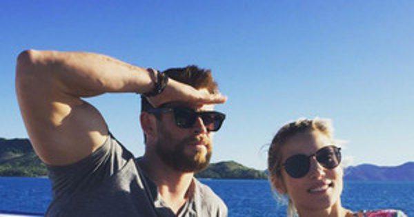 Chris Hemsworth and Elsa Pataky Not