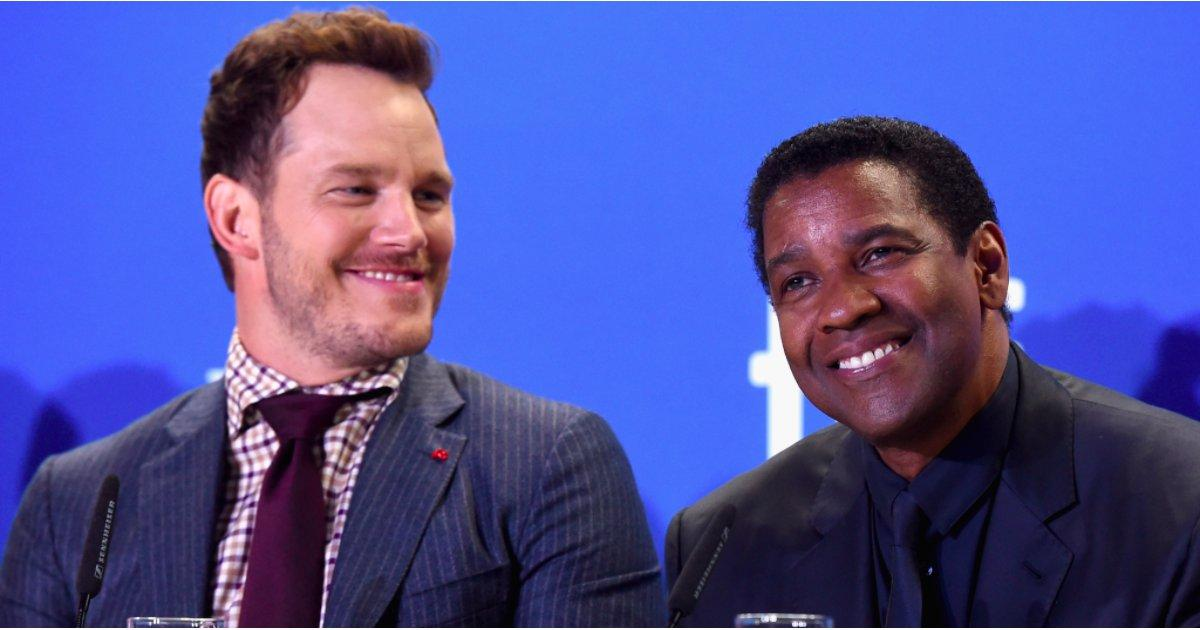 Chris Pratt and Denzel Washington's Budding Bromance Is a Sight to Behold