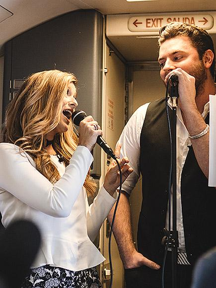 Chris Young and Cassadee Pope Join a New Mile High Club (No,