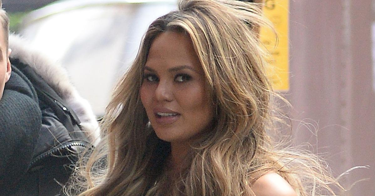 Chrissy Teigen Continues Her Flurry of Gorgeous Pregnancy Ap