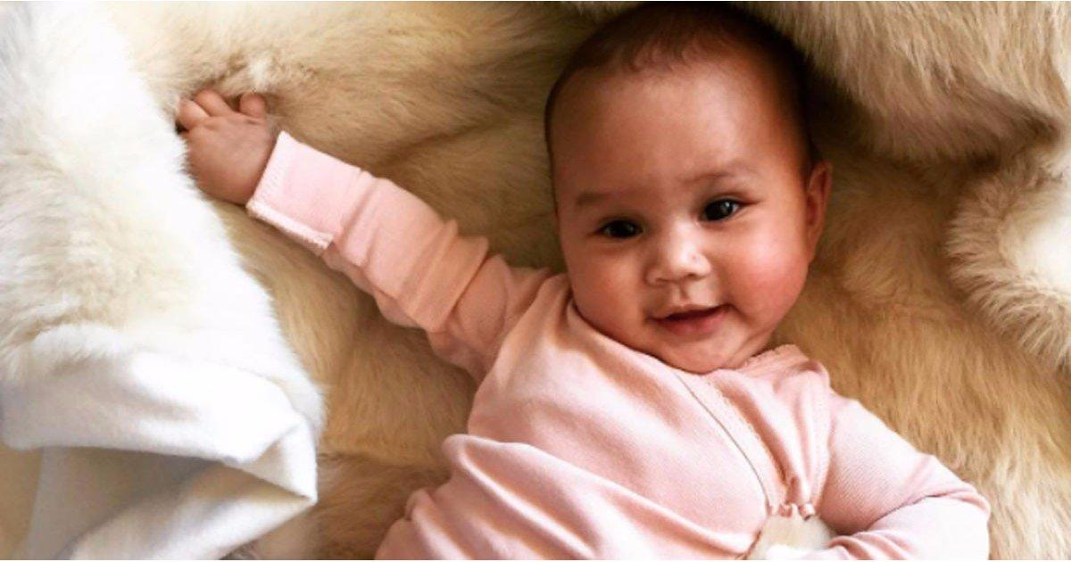 Chrissy Teigen's Daughter Can't Stop Giggling, and You Won't Be Able to, Either