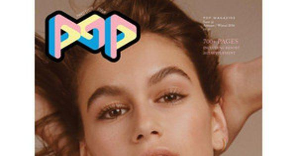 Cindy Crawford's Daughter Kaia Gerber Lands First Solo Magazine Cover for Pop: