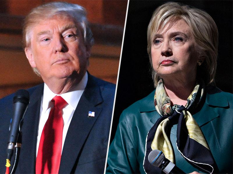 Clinton and Trump Claim Big Home-State Wins in New York; 'It