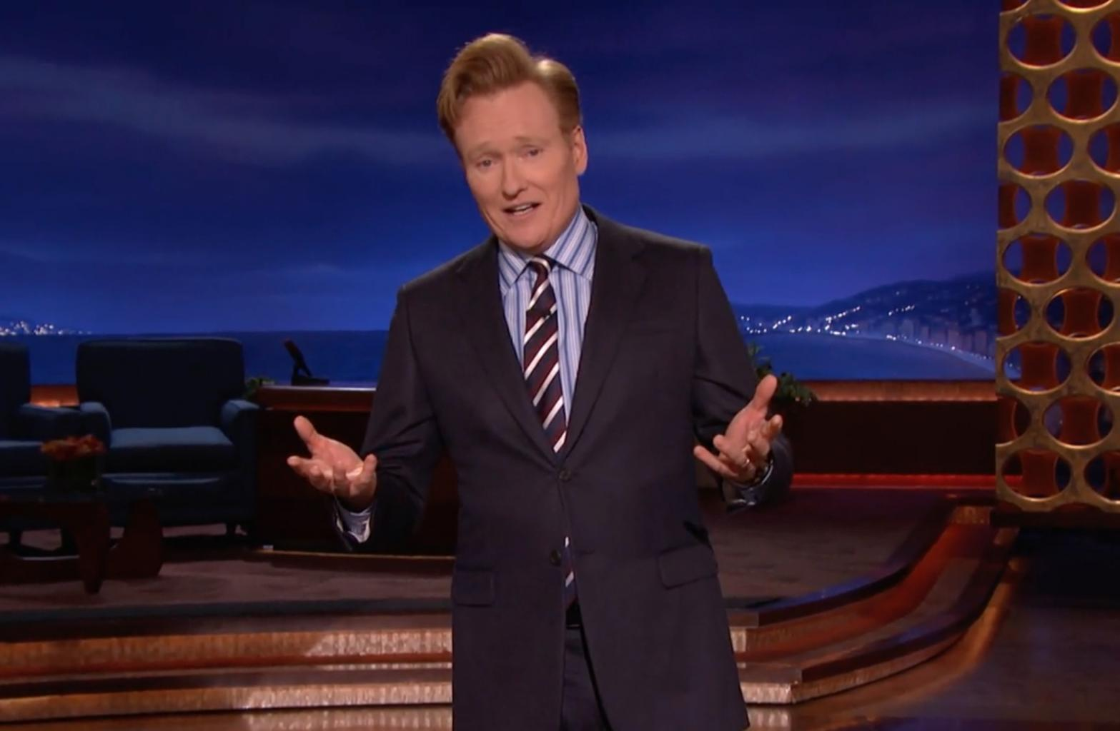 Conan O'Brien Talks Election Results: Democracy Means 'We Get To Pick Who's Going To Ruin Our Country'