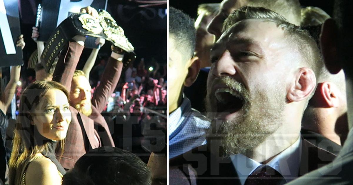 Conor Mcgregor -- Parties Hard After 13 Seconds of Work