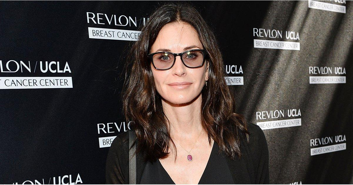 Courteney Cox Says Brad and Angelina's Divorce Is