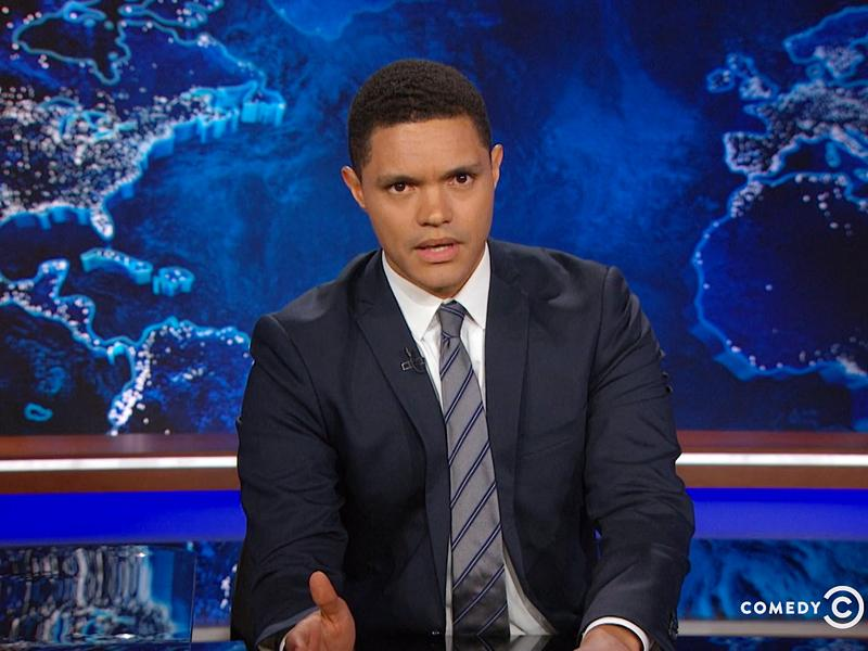 Daily Show: Trevor Noah Says Election    Feels Like the Funeral for America