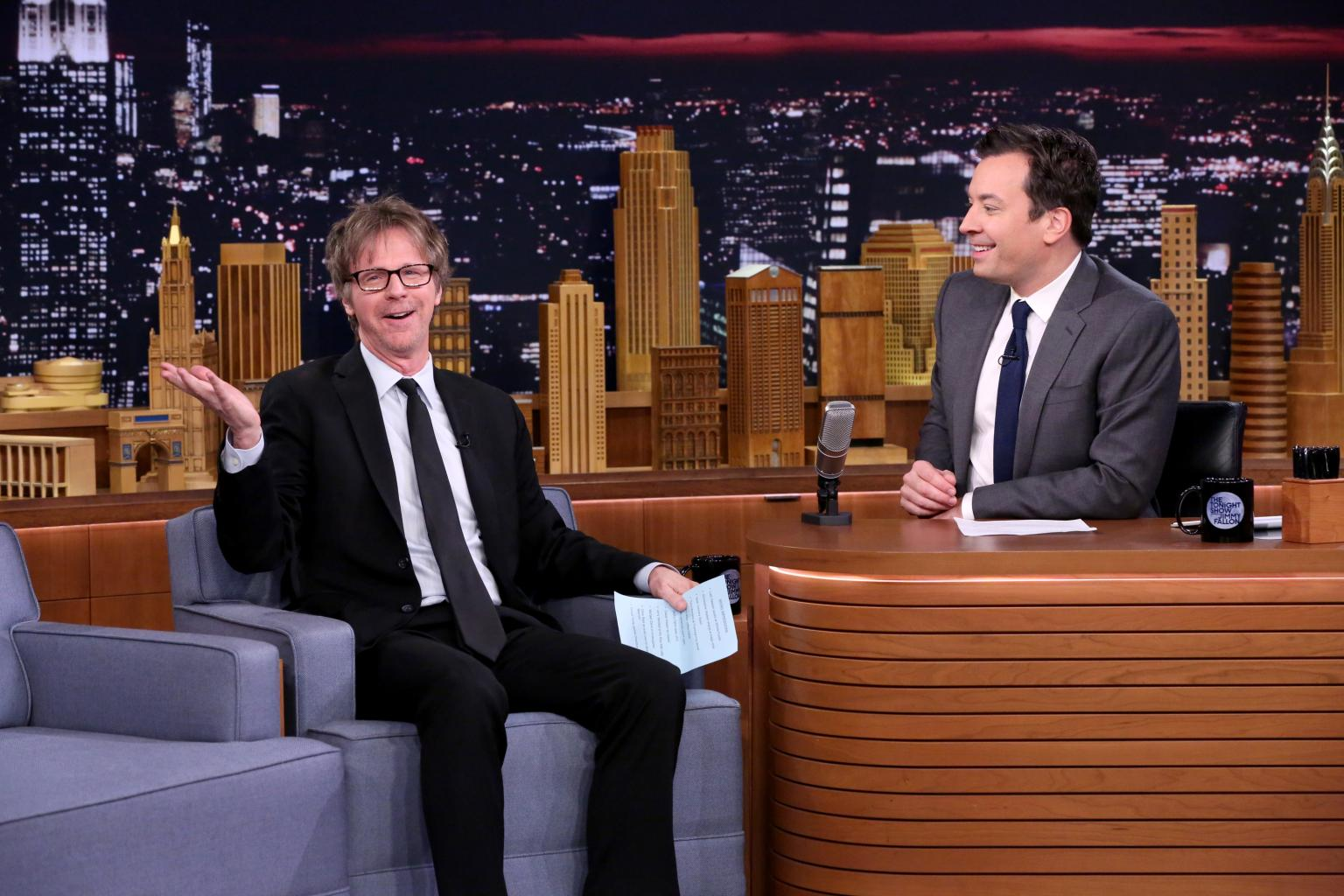 Dana Carvey Kills With        Micro-Impressions      '  Of Trump, Pacino             And Jimmy Fallon             On        Tonight
