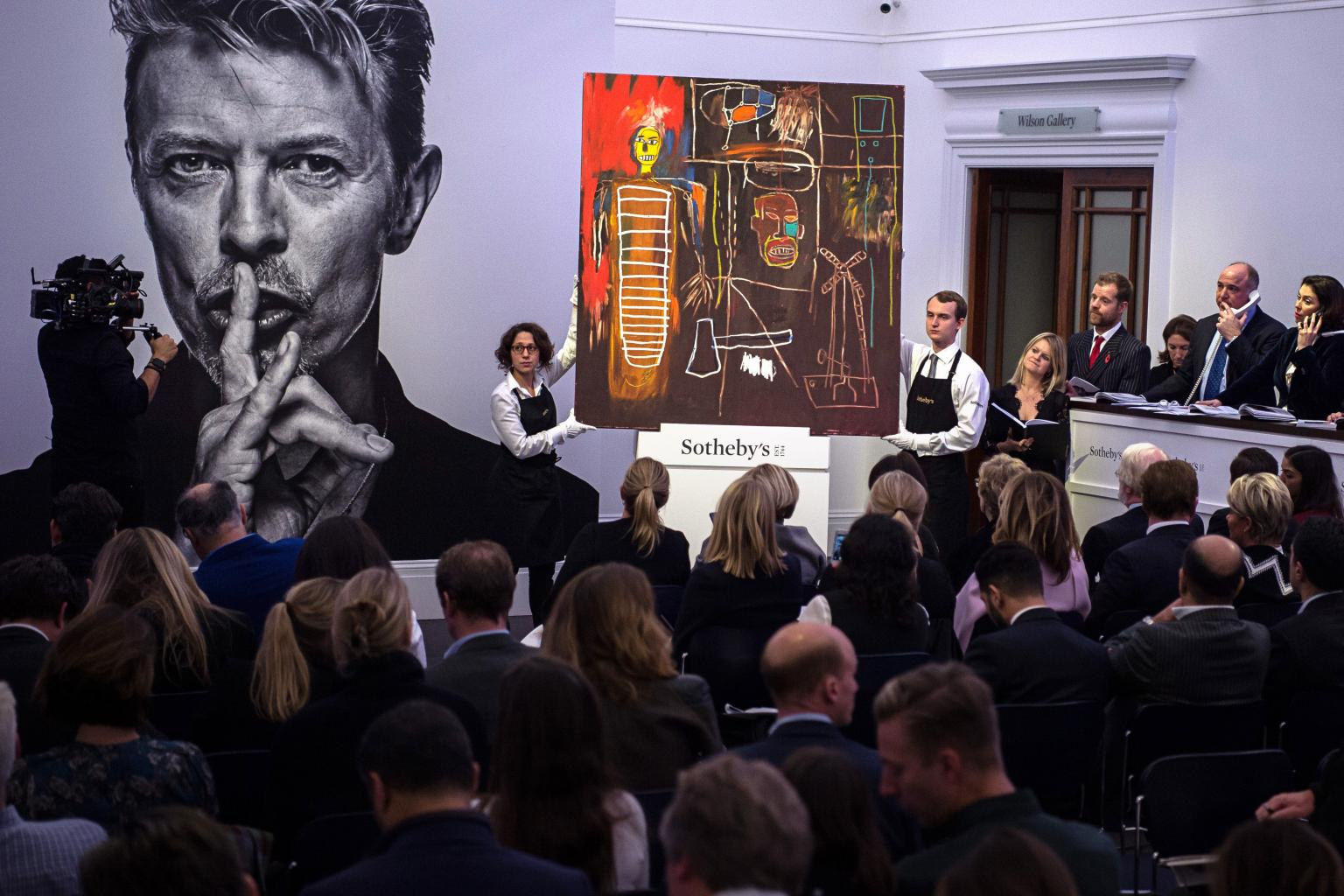 David Bowie Art Auction Nets $30.3 Million, Smashing Projected First-Day Sales