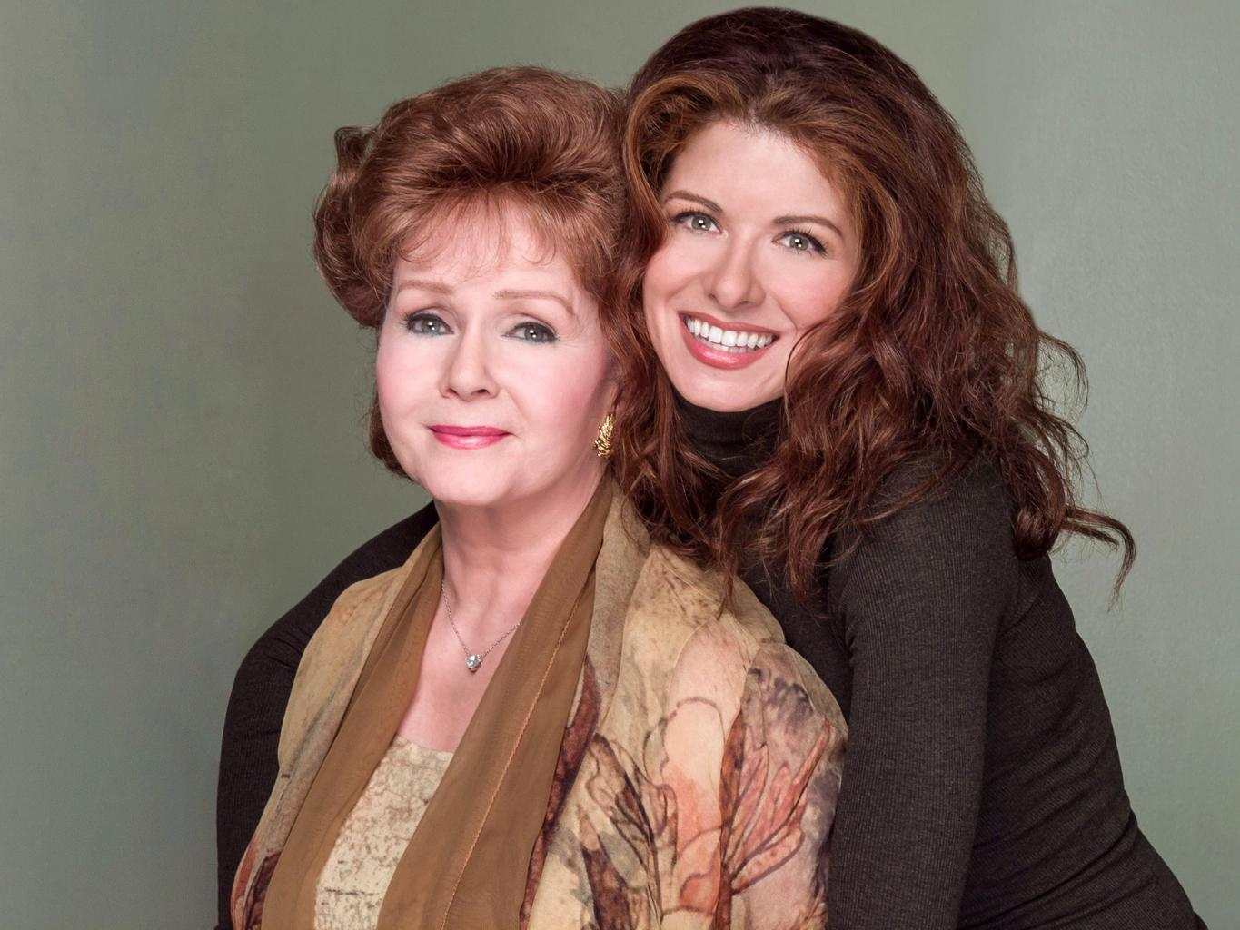 Debra Messing Mourns the Death of On-Screen Mom Debbie Reynolds:        An Inspiration on Every Level