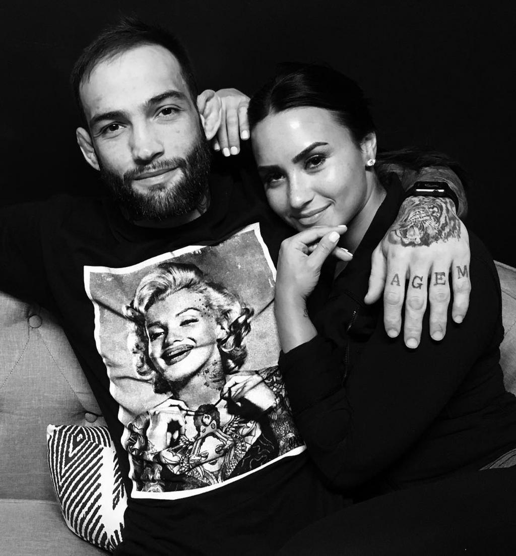 Demi Lovato and Boyfriend Guilherme Vasconcelos Share Their Love Fest on Instagram