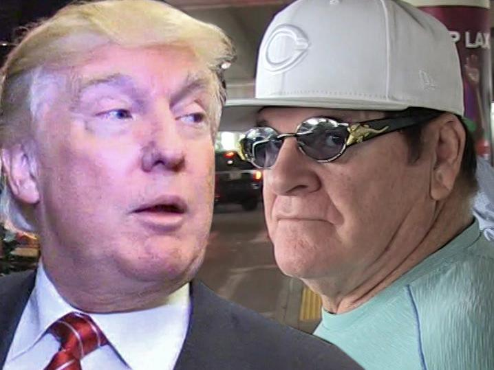 Donald Trump -- Pardon Pete Rose ... Let Him In Hall of Fame