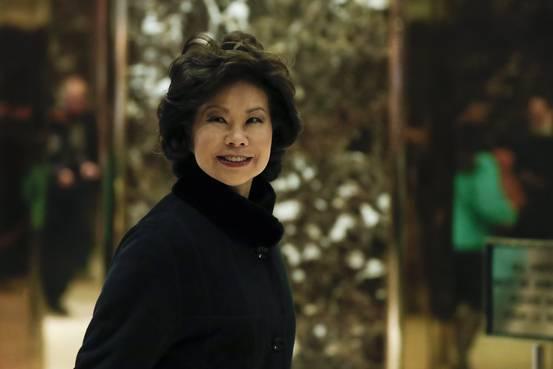 Donald Trump Picks Elaine Chao as Transportation Secretary
