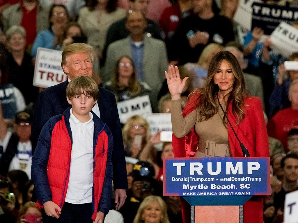 Donald Trump's Youngest Son Barron, 9, Asked: 'When Are You