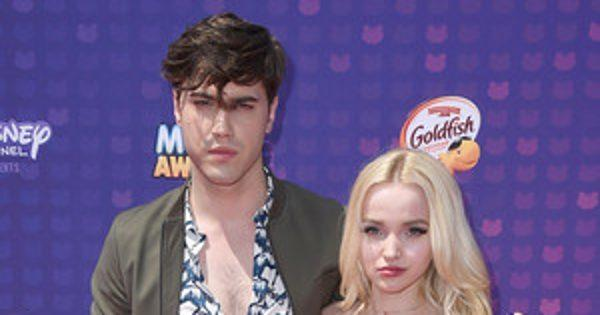 Dove Cameron and Ryan McCartan Walk First Red Carpet as an Engaged Couple at Radio Disney Music Awards