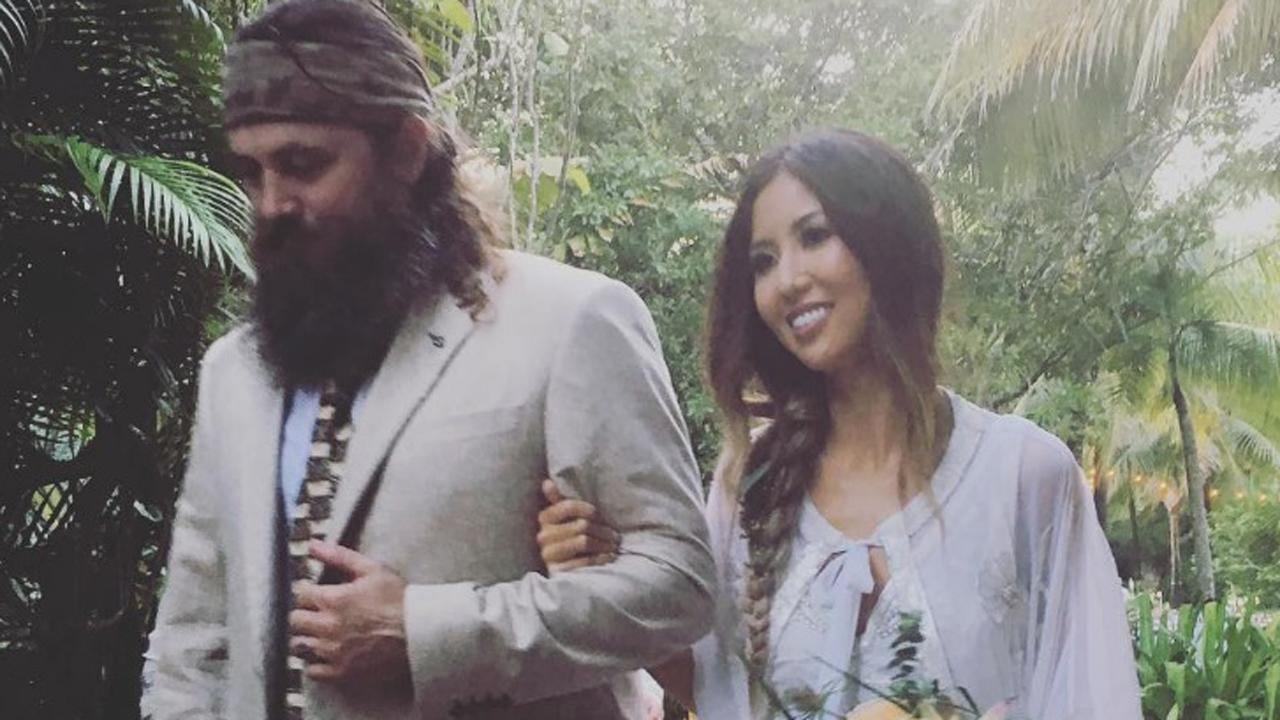 'Duck Dynasty' Star Willie Robertson Walks Daughter Rebecca Down the Aisle -- See the Pics!