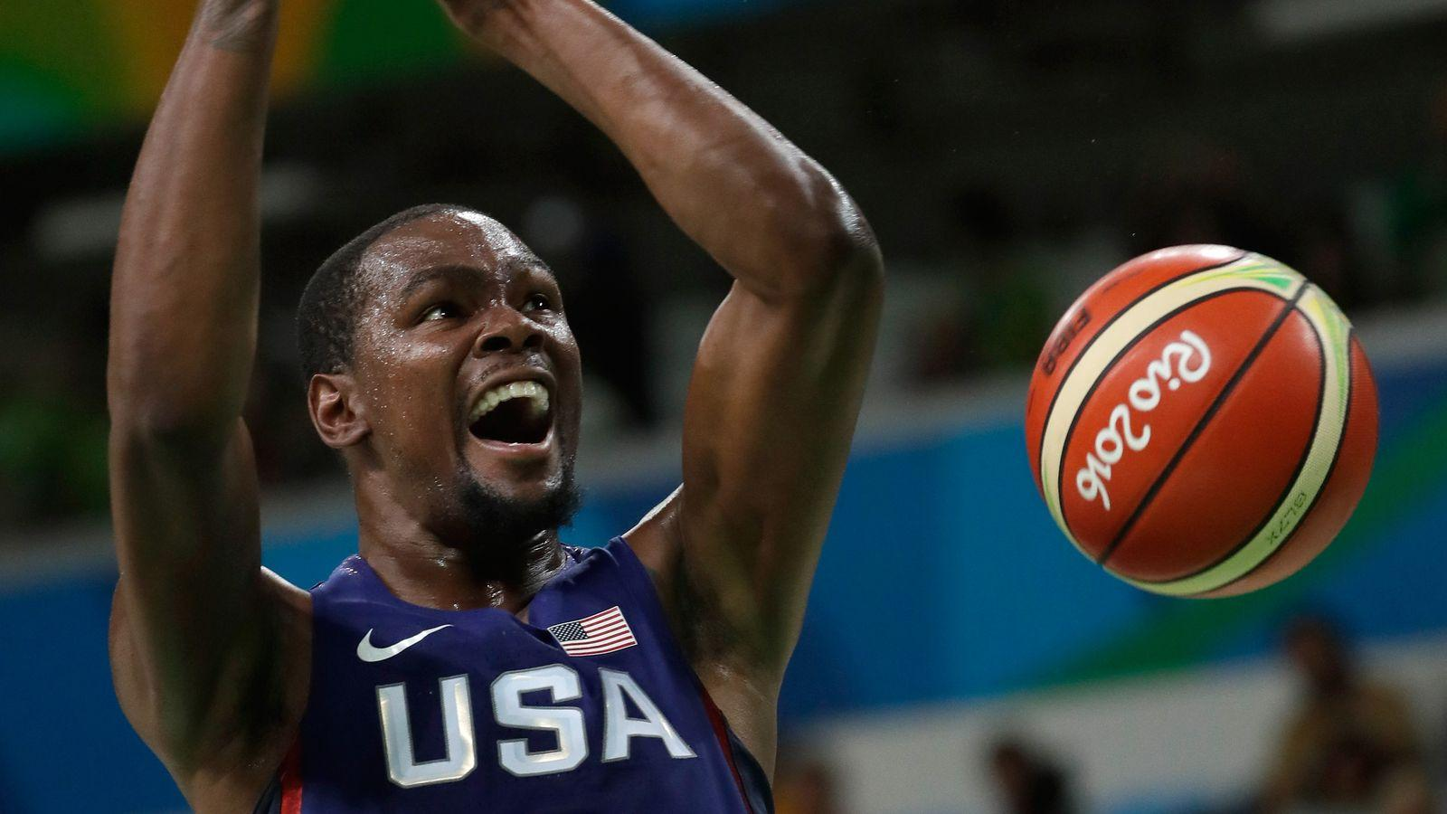 Durant leads Team USA to another gold medal