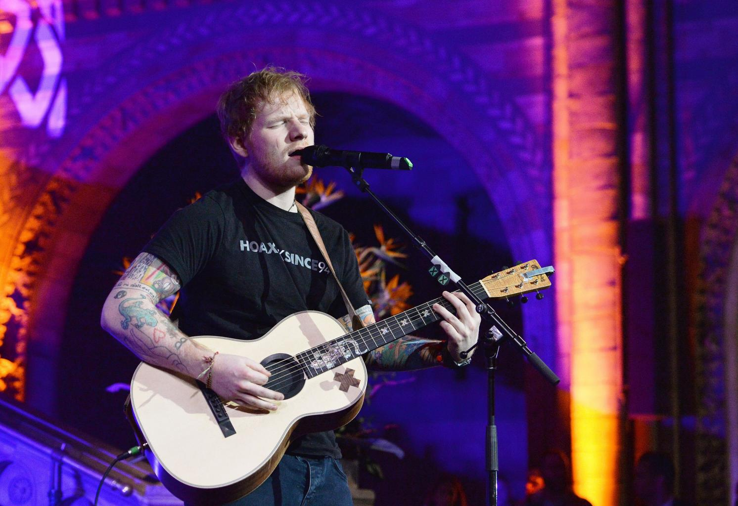 Ed Sheeran Announces New Music To Drop On Friday