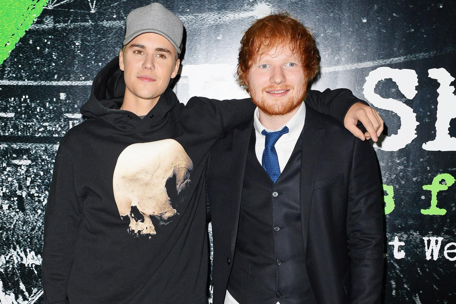 Ed Sheeran Reveals He Once Got Drunk and Smashed Justin Bieber in the Face with a Golf Club