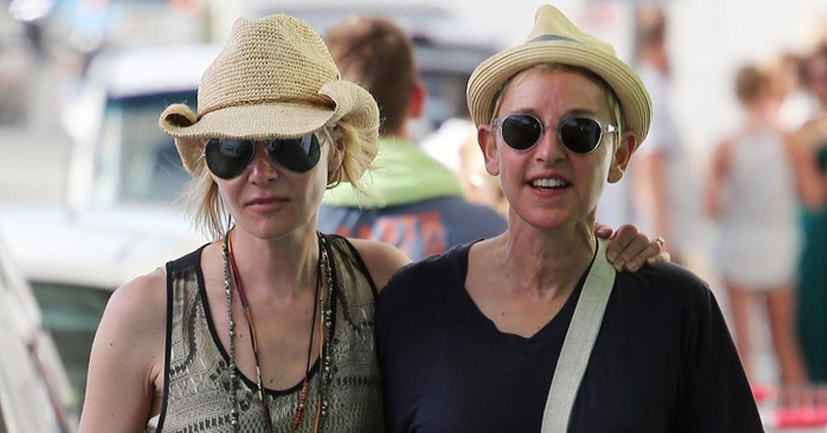 Ellen DeGeneres and Portia de Rossi Look So in Love During T