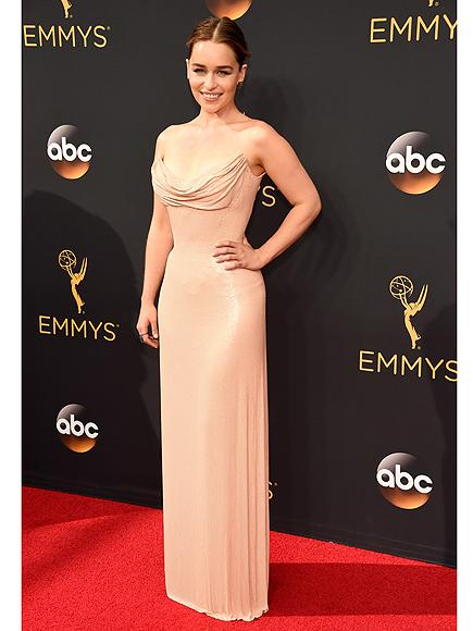 Emilia Clarke Dazzles at Emmy Awards, But Admits She Still Gets 'Flustered' Meeting Fans!