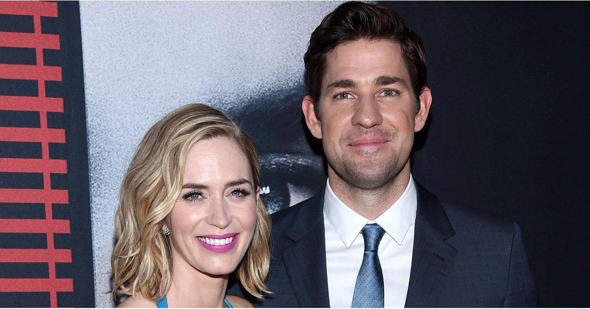 Emily Blunt and John Krasinski Make a Stunning Duo at The Girl on the Train Premiere