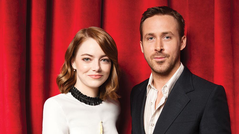 Emma Stone and Ryan Gosling Immortalized on Hollywood Boulevard