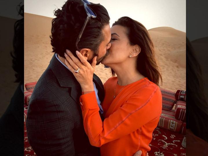 Eva Longoria-- Engaged to Media Mogul ... Third Time's a Cha