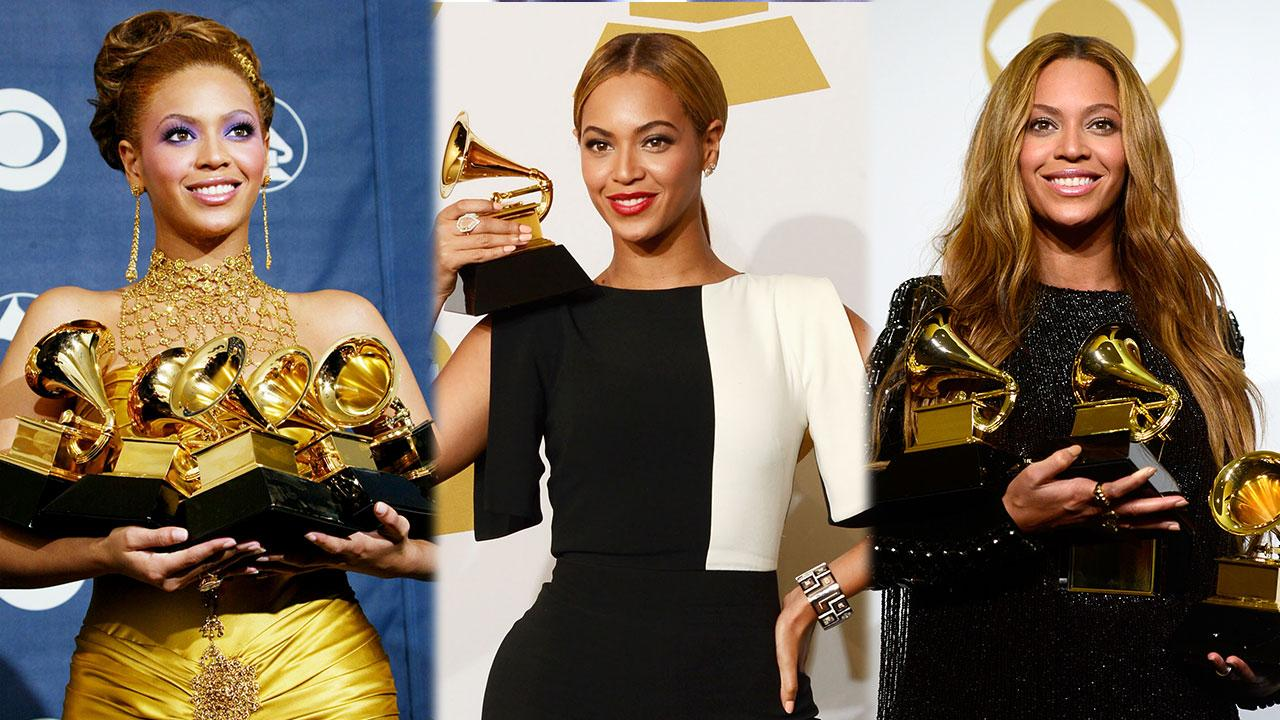 Every Time Beyonc  '  Has Literally Owned the GRAMMYs