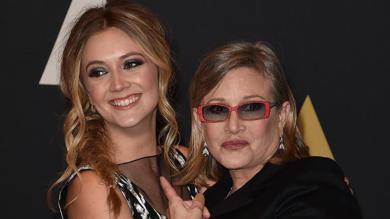 Exclusive: A Look Back on Carrie Fisher and Billie Lourd's Cutest On-Camera Moments