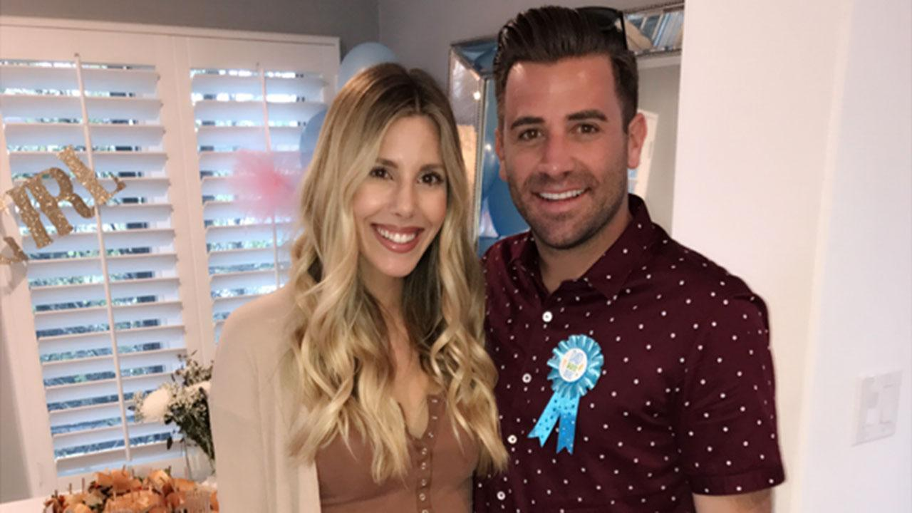 Exclusive: Jason Wahler and Pregnant Wife Ashley Reveal Their Baby's Gender