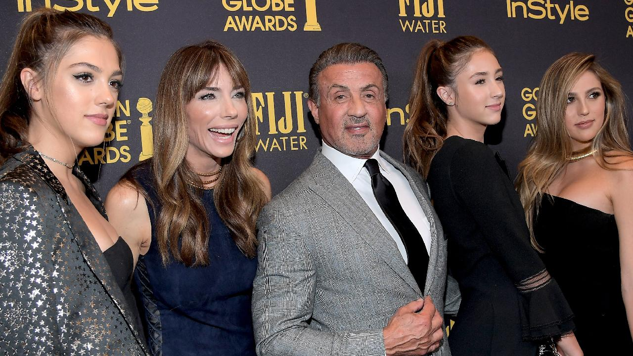 Exclusive: Sylvester Stallone Reacts to Daughters Being Named Miss Golden Globe 2017: 'I'm Just Along for the Ride'