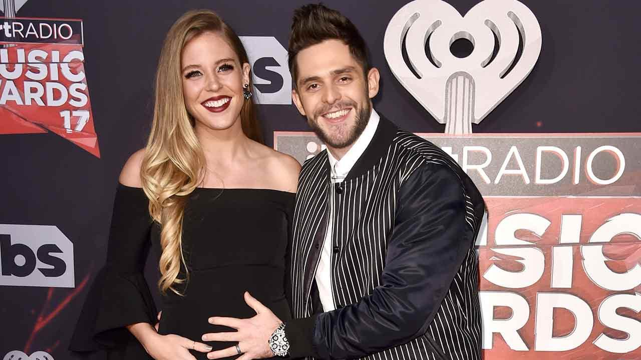 Exclusive: Thomas Rhett Gushes Over Wife's 'Awesome Baby Bump,' Says He's Already Put a Crib in Tour Bus