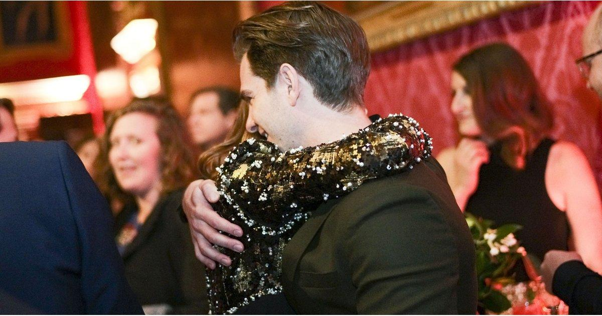 Exes Emma Stone and Andrew Garfield Share a Sweet Hug Ahead of the BAFTAs