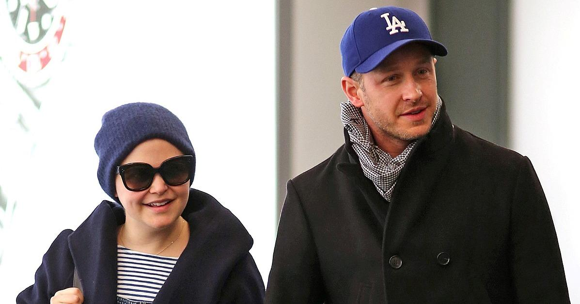 Expecting Parents Ginnifer Goodwin and Josh Dallas Hold Hand