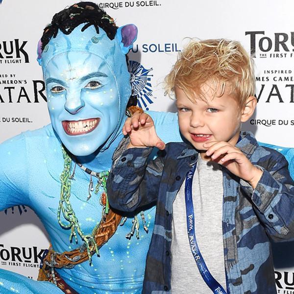 Fergie & Josh Duhamel's Son Axl Is the Cutest Avatar Fan